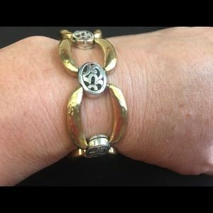 """Brighton gold and silver 7"""" bracelet"""